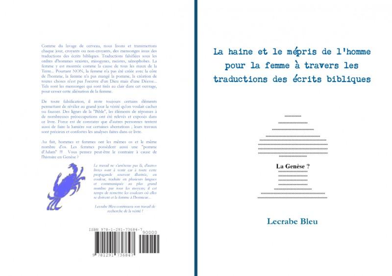 Livre 1 Lecrabe Bleu sur les Elucubrations de la bible
